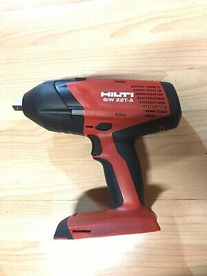"HILTI SIW 22T-A  1/2"" 21.6 V  IMPACT WRENCH CORDLESS body only."