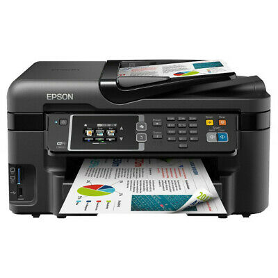 Stampante Multifunzione Epson Workforce Wf-2630Wf Wifi Fax Scanner