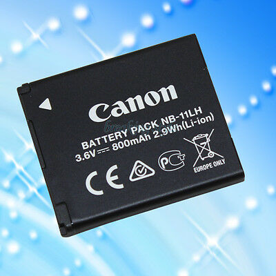 NEW Genuine Canon Battery Pack NB-11LH NB-11L 3.6v, 800mAh 2.9Wh (Li-ion)