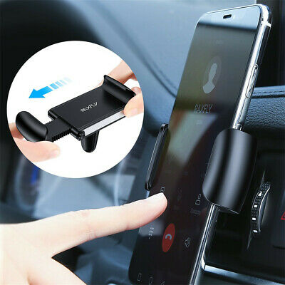 Automatic Car phone Holder 360 Degree Air Vent Mount Stand For 4.0-6.5inch phone