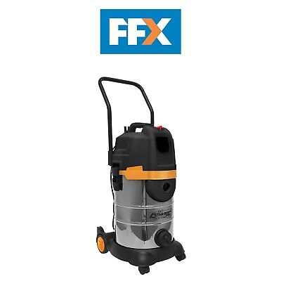 Sealey PC300BL Vacuum Cleaner Cyclone Wet/Dry 30ltr Double Stage 1200W/230V