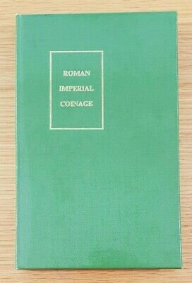 Roman Imperial Coinage Volume 1 Augustus to Vitellius Spink Mattingly & Sydenham