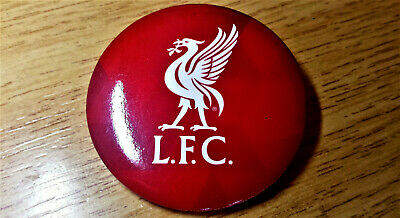 (NEW) OFFICIAL Liverpool FC Red Football Loose Button Pin Badge LFC LIver BIrd