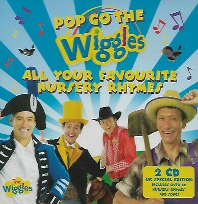 The Wiggles - Pop Go The Wiggles : 2 CD 2010 NEW SEALED