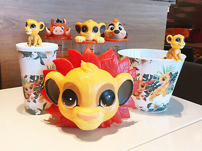Disney The Lion King Simba Topper Cup & Popcorn Bucket Exclusive Collection