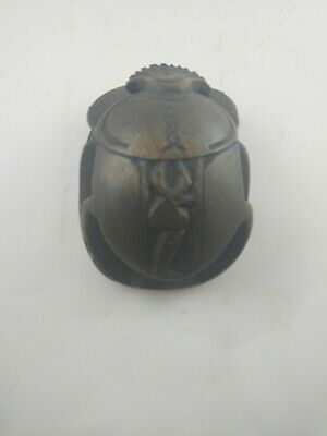 RARE ANCIENT EGYPTIAN ANTIQUE Scarab Beetle 1775-1560 Bc