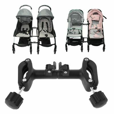 3 X Univesal Baby Stroller Connectors Twins Double Seat Pushchair Stroller Pad