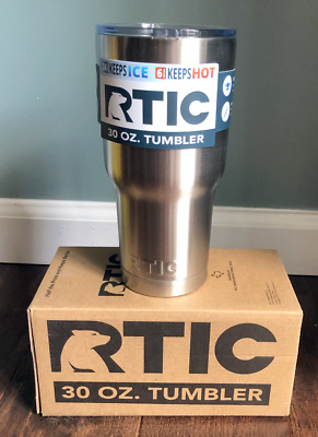 RTIC 30 oz Double Wall Vacuum Insulated Tumbler Stainless Steel [MR72-R30]