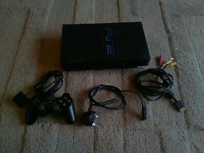 Sony PAL PlayStation 2 PS2 Official Controller Bundle ~ Complete Set Up