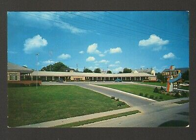 Unused Postcard Town O Tel Motor Court Motel US 219 Princeton West Virginia WV
