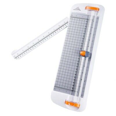 JIELISI 12 Inch Paper Cutter, A4 Paper Trimmer With Automatic Security Safegu SS