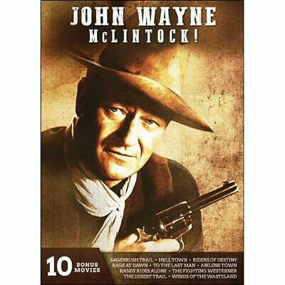 John Wayne: Mclintock (2Pc)...-John Wayne: Mclintock (2Pc) / (Full 2Pk S Dvd New