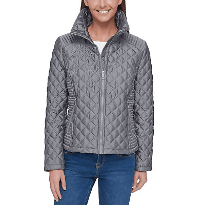 Women Andrew Marc New York Ladies/' Quilted Full Zip Puffer Jacket Variety