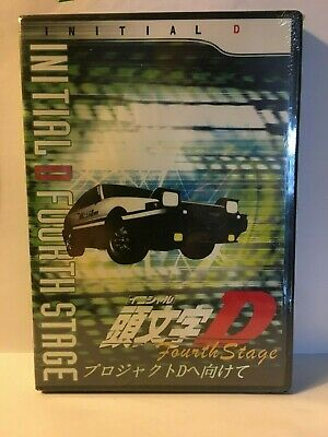Initial D Fourth Stage  New  Anime Dvd