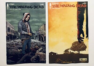 The Walking Dead #192 Death Of Rick Grimes & #193 Final Issue First Prints