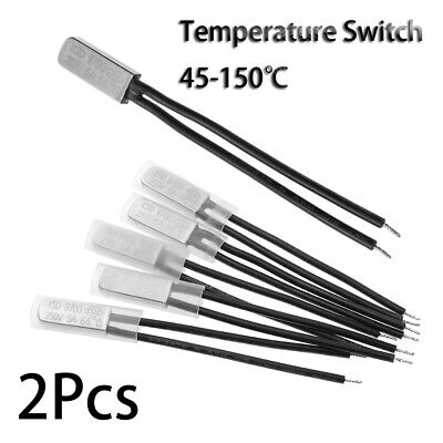 Thermal Protector  KSD9700 Temperature Switch Normally Closed / Open Thermostat