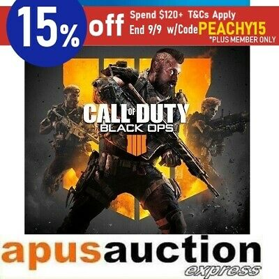 Call of Duty Black Ops 4 PS4 Game COD NEW