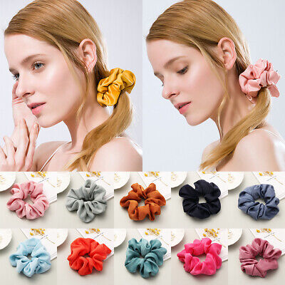 Holder Headwear Elastic Satin Hair Scrunchies Hair Rope Hair Rubber Bands