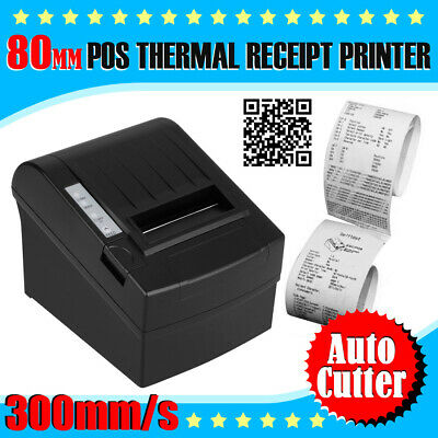 Splash-proof 300mm/sec 80mm Thermal Dot Receipt Printer with AUTO-CUT Function