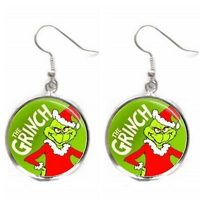 Grinch Earrings The Grinch Who Stole Christmas Gift Jewelry Stocking Stuffer