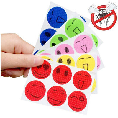 60Pcs Natural Mosquito Repellent Stickers Anti-Toxic Insect Bug Repeller Patches