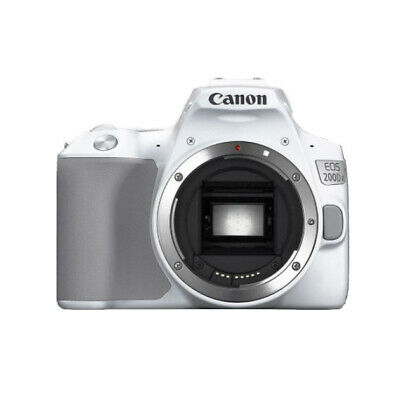 CANON EOS 200D Mark II DSLR 4K UHD Video SDXC APS-C DIGIC 8(ONLY BODY) - White
