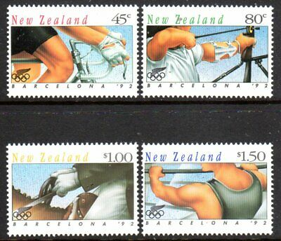 1992 NEW ZEALAND OLYMPIC GAMES BARCELONA 2nd issue SG1670-1673 mint unhinged