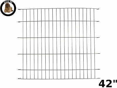 "Ellie-Bo Black Divider for 42"" Extra Large Dog Puppy Cage Crate"