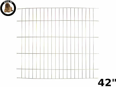 "Ellie-Bo Gold Divider for 42"" Extra Large Dog Puppy Cage Crate"