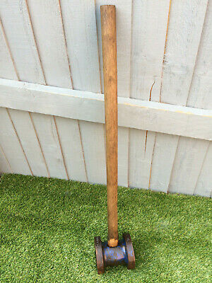 Vintage Record 5 inch Fence Post Driver hammer Knocker Building for Wooden Posts