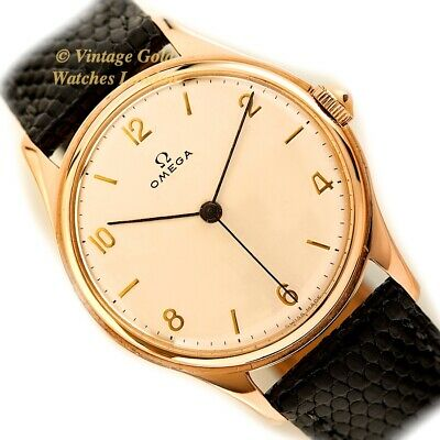 Omega Cal.30 T2 Sc, 18Ct Pink Gold, 1945, 36Mm - Immaculate!
