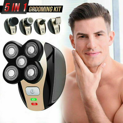 5 in 1 Easy Head Shaver 5D Trimmer Razor Multifunction Hair Rechargeable