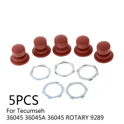 5Pcs/Set Primer Bulb Replace Use For Tecumseh 36045 36045A ROTARY 9289 Engine
