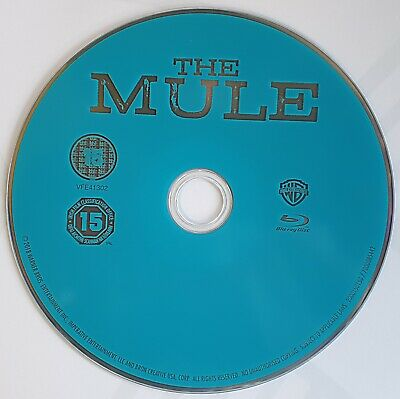 THE MULE Blu Ray* Clint Eastwood*  Disc Only.. Read Description please!