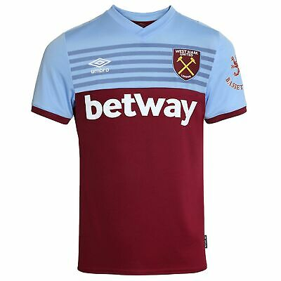 Umbro Official Mens West Ham United FC Home Football Shirt Jersey Top 2019-20