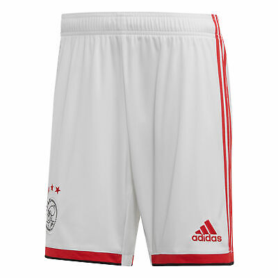 adidas Official Mens AFC Ajax Home Football Shorts Bottoms 2019-20