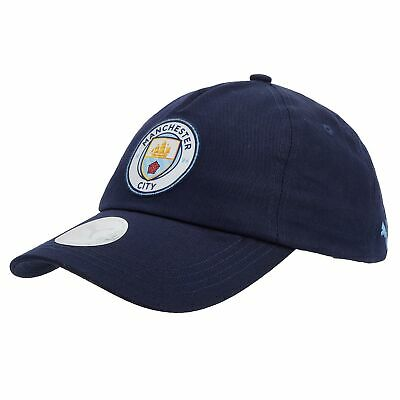Puma Official Unisex Manchester City FC Football Team Cap Hat Navy