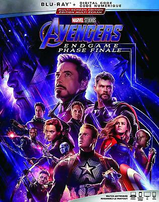 AVENGERS: ENDGAME (2019) [Blu-ray + Digital] New !! Pre-order for Aug 13