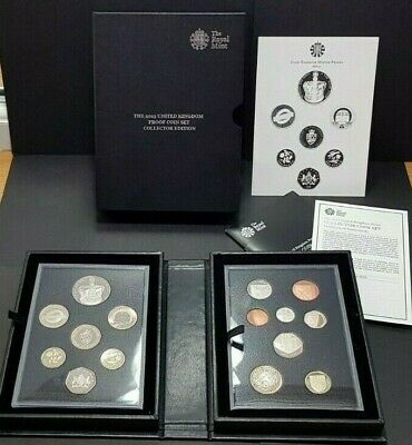2013 Royal Mint UK Proof Coin Set Collector Edition 15 Coins