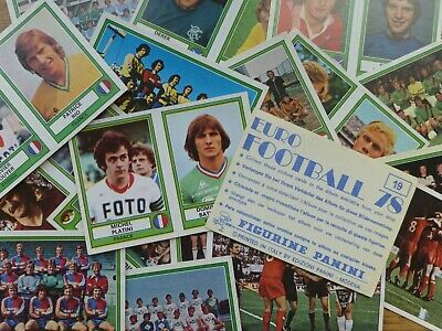 Panini Euro Football 78 Stickers (Large) - Complete Your Collection