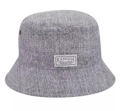 a41b7823f KANGOL OXFORD SPEY Bucket Hat XL Polyester/Cotton Gray