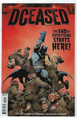 DCEASED # 1 OF 6 VARIANT 2nd Printing DECEASED DC COMIC - NM