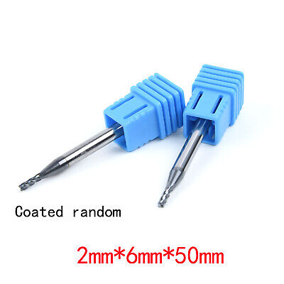 Supplies End Mill Accessories Replacement 2Pcs 2MM HRC65 Drill Durable