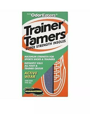 Odor-Eaters Trainer Tamers Super Strength Insoles Sports & Trainers Washable