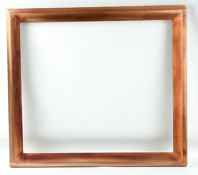 Arts & Crafts Solid Brushed Copper 22 x 25 Frame - Very Heavy