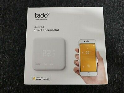 Tado Smart Thermostat Starter Kit V3 - New, UK