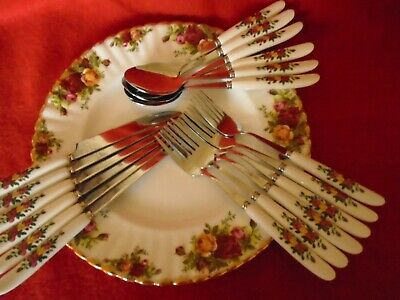 Old Country Rose *** Inspired/**** 18Pcs Cutlery Set***