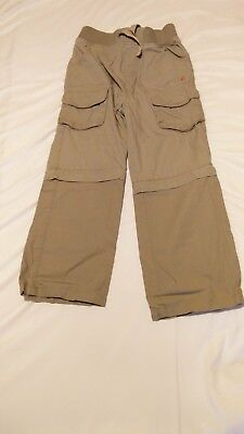 Peter Storm Childrens Walking Trousers Age 7-8 Zip off legs