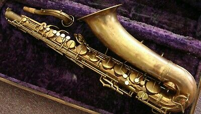 Conn Naked Lady 10mTenor Saxophone1944(Tone Rolled Holes)in Playing Condition