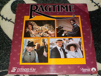 Ragtime Laserdisc LD James Cagney Milos Forman Free Ship $30 Orders